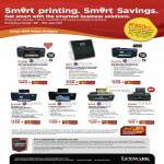 Lexmark Printers Inkjet Pro901 S815 Pro708 Pro208 S405 S505 X5650 Colour Wireless Business Flash Scan