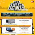 Deals Free Samsung D5500 LED TV HP Pavilion G4 Notebook Fibre Broadband Mobile Value Plan 1Box MFix