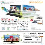 Sensonic AIO Desktop PC E190WD LED Monitor