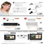 Sensonic Bluetooth Headset BH100 Keyboards UX6000 U20 GPS N400 N520