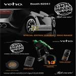 Innov Veho Gumball 3000 Special Edition Range Speaker Camcorder Headphone