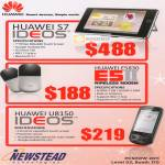 Huawei Tablets Ideos S7 E5830 E5II Wireless Modem U8150 Android