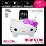 Hello Kitty IPhone IPod Docking Speaker