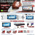 Palladine LED TV PLE2400T PLE1930T PLE2200L PBD9000 Blu Ray Player Wallmount Bracket PTB110 PTB125S PTB125M