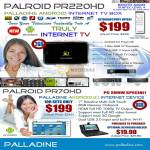 Palroid PR220HD Android Froyo Internet TV Box PR70HD