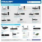 Prolink Bundle Promotions Wireless Router HSUPA Modem USB Adapter Powerline ADSL PCI LAN Card