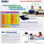 Networks Portable 3G Router SMCWPBR-3G SMCWIPCAM-PZ SMCWBR14S-N4 EZ Connect Vision IPCam