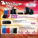 FreeAgent GoFlex TV Media Player Ultra-Portable External Storage USB 3