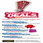 Deals Free Special Number Android Figurines Goodie Bags CozyCot Fred Perry Butterfactory Creative Headset