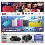 Digital Cameras Cybershot DSC TX100V TX10 Alpha 55 SLT-A55VL