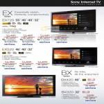TV EX Series EX720 EX520 BX Series BX420 BX320 Bravia X-Reality KDL 55EX720 46EX720 40EX720 32EX720 46EX520 40EX520 32EX520 40BX420 32BX320