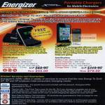 Sprint Cass Energizer Portable Charger XP2000 AP1201 Energi To Go