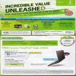 Broadband Fibre Home Free Lenovo Thinkpad Edge E220s Lucky Dip GV Ticket Robinsons Voucher Maxinfnity Premium Plus