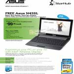 Starhub Broadband MaxInfinity Ultimate 100Mbps ASUS N42SL Intel Wireless Display