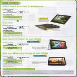 Broadband Mobile Free ASUS Eee Pad Transformer HTC Flyer Motorola Xoom