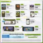 Mobile Phones Blackberry Bold 9000 Curve 9300 Bold 9780 Torch 9800 LG Optimus 2X 7 Axioo PicoPad SE Xperia Arc Samsung Galaxy Tab Dell Streak