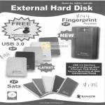 System Tech Ranger External Storage Sata USB Fingerprint ZP