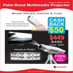 System Tech Ranger Multimedia Projector