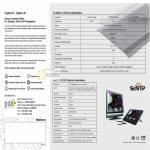 Hanvon Graphics Tablet Art Master III SenTIP 1201WD Specifications