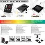 Hanvon Sentip Art Master III Graphics Tablet Wireless AM III