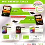 HTC Smartphones HTC One X, One V, Sensation, Sensation XE, Sensation XL