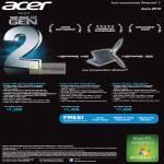 Acer Notebooks Ultrabooks Aspire M5-481TG-53316G52Ma, S5-391-53314G12a, S5-391-73514G25a