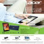Tablets Iconia Tab A100, Accessories