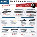 SMC Networks Wireless 3G Router SMCWPBR-3G, Switch, Gigabyte Switch, Ethernet Switch, EZ Switch SMCGS10P-Smart, SMCGS10C-Smart