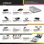 EGear Battery Charger I2200, I3600, I8200, I5400, I1500, I1000, IWalk 800, IStylus, HDMI Cable, Laptop Stand