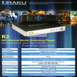 R2 HD Internet Movie Streaming Player Specifications