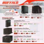 Buffalo Cloudstation CS-X Series, CS-WV R1 Series, NAS LinkStation Pro, Duo, Quad