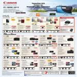 Digital Cameras IXUS 510HS, 500 HS, 240 HS, IXUS 125 HS, G1X, G12, S100, SX40 HS, D20