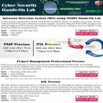 Training Cyber Security Hands-On Lab, PMP Preview, ITIL Preview