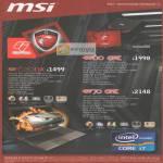 MSI Notebooks GE620DX, GE60 ONC, GE70 ONC