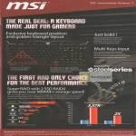 MSI Notebooks Steelseries Keyboard Features, SSD Super Raid 0