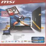 MSI Notebooks X Series X460DX