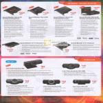 Sound Blaster Cards Recon3D Fatality Professional, PCI, Champion Series, Titanium HD, Webcam Live Cam Connect HD, Socialize 1080, HD AF, Chat HD