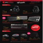 Cooler Master CMStorm, Sirus 5.1, S Headset, Quickfire Pro Keyboard, Rapid, Trigger, Xornet, Spawn, Inferno Gaming Mouse, Speed RX Mousepad
