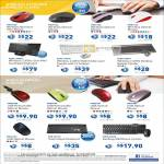 Prolink Accessories Wireless Mouse, Bluetooth, Wired Keyboard, Mouse