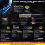 Notebooks Alienware M14x, Alienware M17x