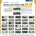 Galactio V8.8.8 GPS Navigation ISearch Intellisense Features