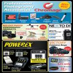 Red Dot Nexto Di ND2730 Photo Storage, Victory Camera Bags, Powerex Battery, Hyygrometer Thermometer