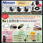 Red Dot Nissin Digital Flash Di466, Di622 MK2, Di866 MK2, GamiLight, Visico Lightstands, Studio Strobes,
