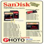 Red Dot Sandisk Memory Cards SDHC, XPSDHC, MSDHC, CompactFlash CF, Cruzer USB Flash Drive