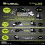Powermap Wireless Charging Starter Kit A, B, C, IPhone
