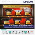Epson Printers Free Gift ME Office 535, EB-X02 Projector, Aculaser CX17NF, Perfection V600 Photo, Me Office 900WD, Labelworks LW-400