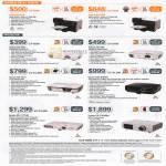 Printers Projectors B310N, B510DN, EB-S02, EB-X02, MG-850HD, EB-W12, EB-1775W, EH-TW3600