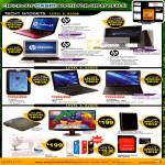 Gain City Notebooks HP, Toshiba Tablets, Netbook, Viewsonic VX-2336S LED Monitor, Casing