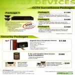CCTV Surveillance Packages, Security Digital Door, E.M. Lock System, Alarm System