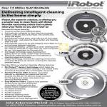 IRobot Vacuum Robot Cleaner Roomba 780, Roomba 555, Roomba 531